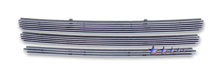 Nissan Cube  2009-2012 Polished Lower Bumper Aluminum Billet Grille