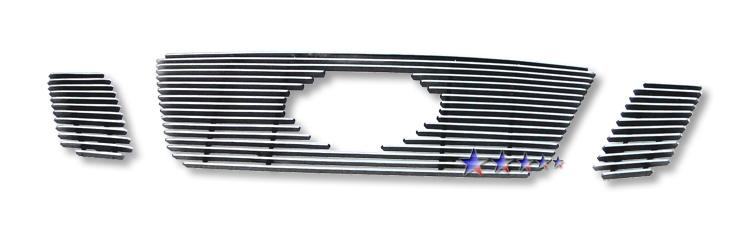 Nissan Xterra  2009-2012 Polished Main Upper Aluminum Billet Grille