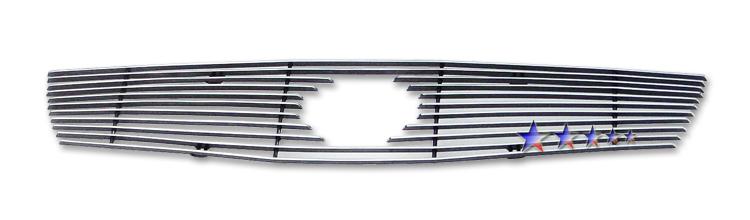 Nissan Sentra Se-R 2007-2010 Polished Main Upper Aluminum Billet Grille