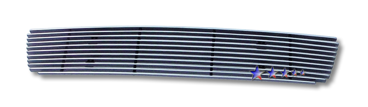 Nissan Sentra Se-R 2007-2010 Polished Lower Bumper Aluminum Billet Grille