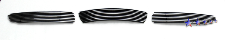 Infiniti G35  2007-2008 Polished Lower Bumper Aluminum Billet Grille