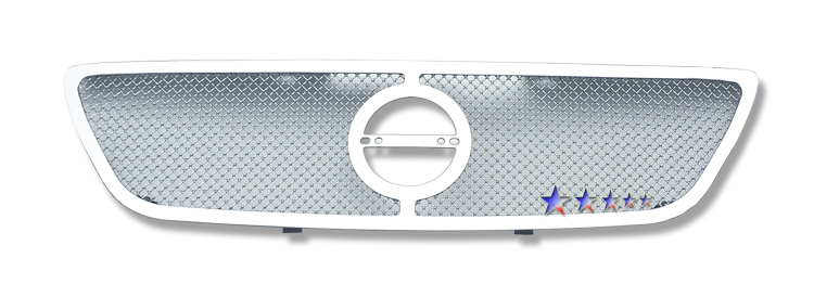 Nissan Altima  2002-2004 Chrome Main Upper Mesh Grille