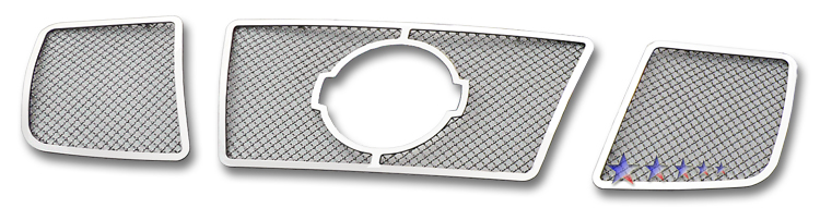 Nissan Armada  2004-2007 Chrome Main Upper Mesh Grille