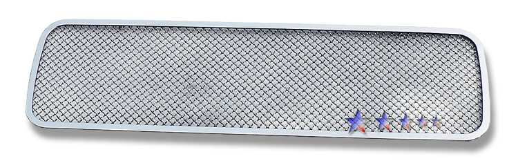 Nissan Titan  2004-2012 Chrome Lower Bumper Mesh Grille