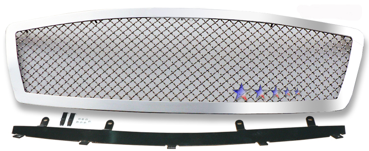 Infiniti Fx35  2003-2005 Chrome Main Upper Mesh Grille