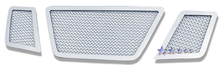 Nissan Frontier  2005-2008 Chrome Main Upper Mesh Grille