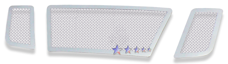 Nissan Titan  2008-2012 Chrome Main Upper Mesh Grille