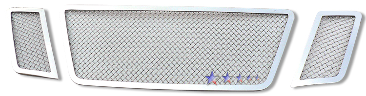 Nissan Pathfinder  2008-2012 Chrome Main Upper Mesh Grille