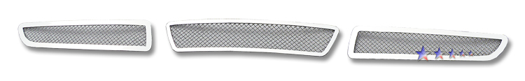 Infiniti G35  2007-2008 Chrome Lower Bumper Mesh Grille