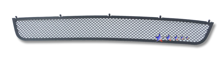 Nissan Altima  2010-2012 Black Powder Coated Lower Bumper Black Wire Mesh Grille