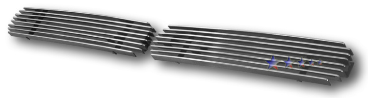 Nissan Nissan Pickup  1995-1997 Polished Lower Bumper Aluminum Billet Grille