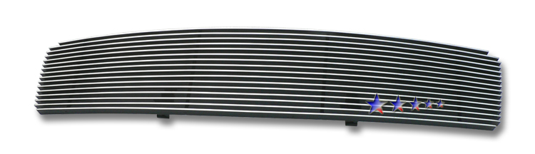 Nissan Maxima  2009-2012 Polished Main Upper Aluminum Billet Grille