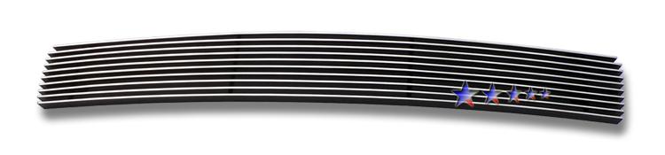 Nissan Maxima  2009-2012 Polished Lower Bumper Aluminum Billet Grille