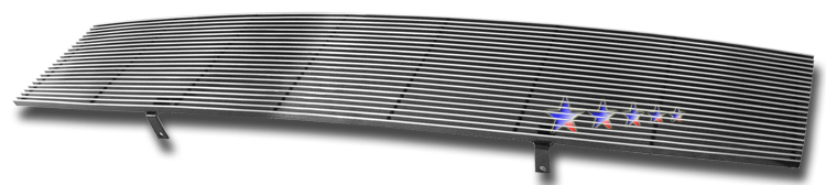 Nissan Titan  2004-2007 Black Powder Coated Main Upper Black Aluminum Billet Grille