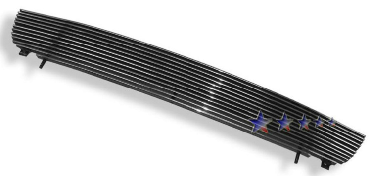 Nissan Sentra  2000-2003 Polished Main Upper Aluminum Billet Grille