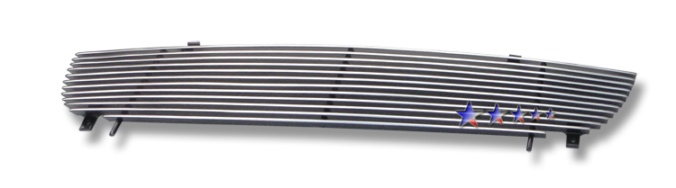 Nissan Sentra  2000-2003 Polished Main Upper Stainless Steel Billet Grille