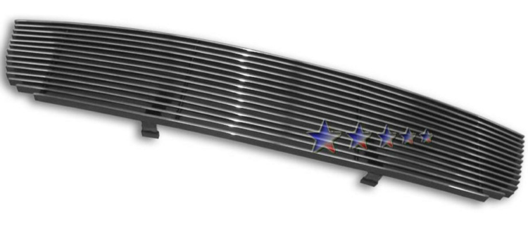 Nissan Sentra  2004-2006 Polished Main Upper Aluminum Billet Grille