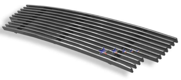 Nissan Sentra Se-R 2002-2003 Polished Main Upper Aluminum Billet Grille