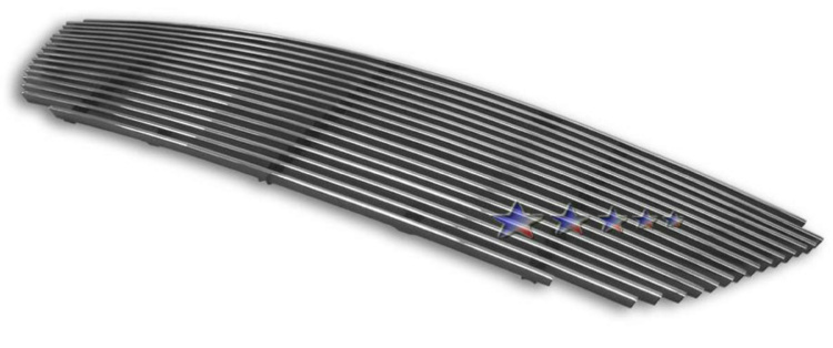 Nissan Altima  2002-2004 Polished Main Upper Aluminum Billet Grille