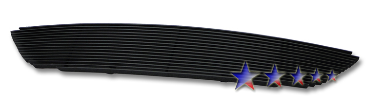 Nissan Altima  2002-2004 Black Powder Coated Main Upper Black Aluminum Billet Grille