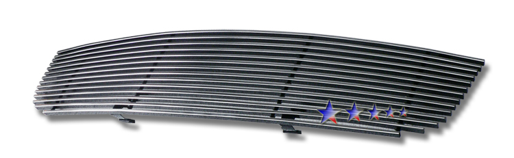 Nissan Altima  2002-2004 Polished Main Upper Stainless Steel Billet Grille