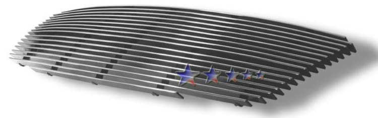 Nissan Altima  2005-2006 Polished Main Upper Aluminum Billet Grille