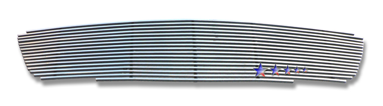 Nissan Altima  2005-2006 Polished Main Upper Stainless Steel Billet Grille
