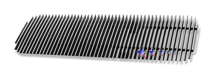 Nissan Armada  2004-2007 Polished Lower Bumper Aluminum Billet Grille