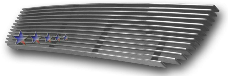 Nissan Frontier  2001-2004 Polished Lower Bumper Aluminum Billet Grille