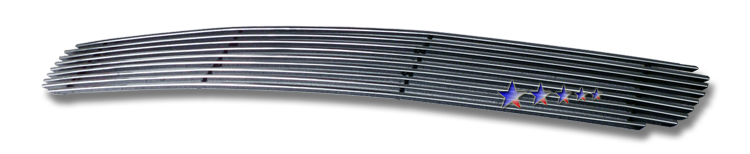 Nissan Frontier  2001-2004 Polished Lower Bumper Stainless Steel Billet Grille