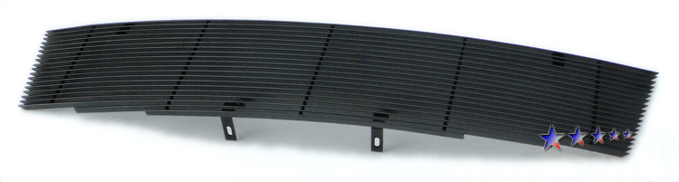 Nissan Pathfinder  2005-2007 Black Powder Coated Main Upper Black Aluminum Billet Grille