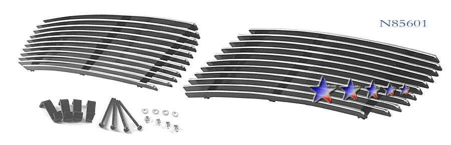 Infiniti G35  2003-2004 Polished Lower Bumper Stainless Steel Billet Grille