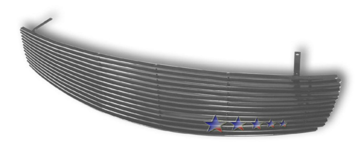 Infiniti G35  2003-2007 Polished Main Upper Aluminum Billet Grille