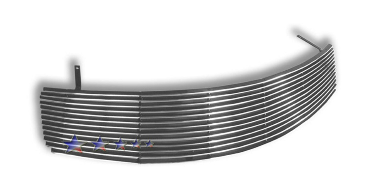 Infiniti G35  2005-2006 Polished Main Upper Aluminum Billet Grille