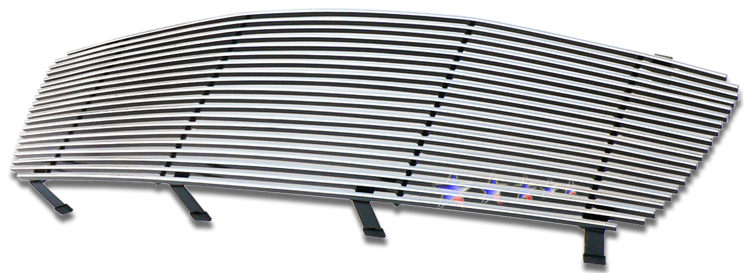 Infiniti Fx45  2003-2008 Polished Main Upper Stainless Steel Billet Grille
