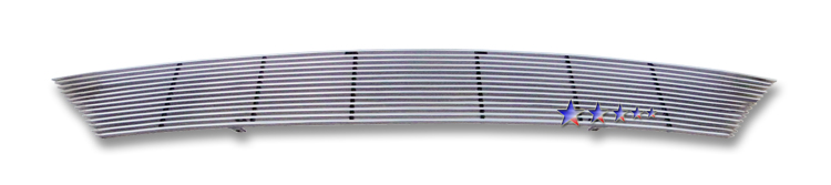 Nissan Versa  2007-2011 Polished Main Upper Aluminum Billet Grille