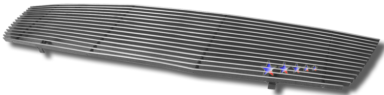 Nissan Sentra  2007-2009 Polished Main Upper Aluminum Billet Grille