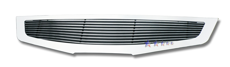 Nissan Altima  2007-2009 Polished Main Upper Aluminum Billet Grille