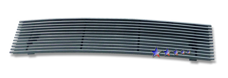 Nissan Cube  2009-2012 Polished Main Upper Aluminum Billet Grille