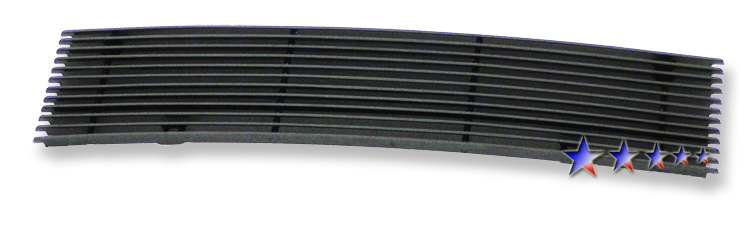 Nissan Cube  2009-2011 Black Powder Coated Main Upper Black Aluminum Billet Grille