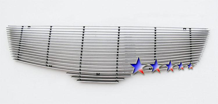 Nissan Sentra  2010-2012 Polished Main Upper Aluminum Billet Grille