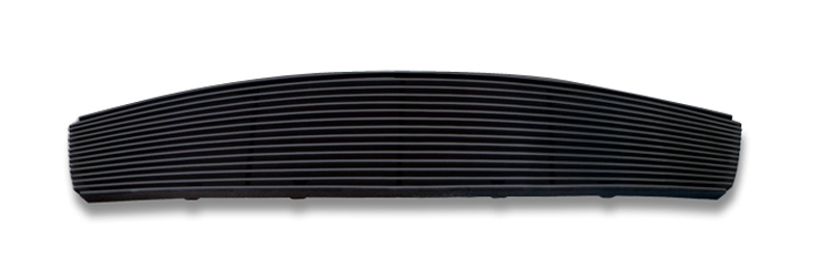 Infiniti G35  2007-2008 Black Powder Coated Main Upper Black Aluminum Billet Grille