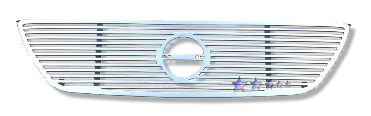 Nissan Altima  2002-2004 Polished Main Upper Perimeter Grille