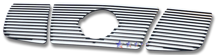 Nissan Armada  2004-2007 Polished Main Upper Perimeter Grille