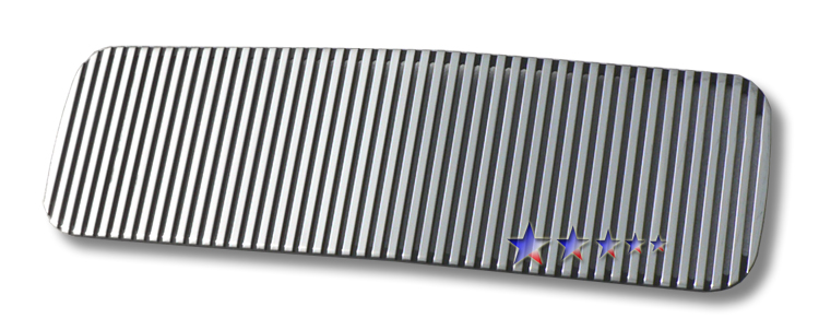 Nissan Titan  2004-2012 Polished Lower Bumper Perimeter Grille