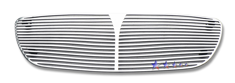 Nissan Maxima Se 2001-2003 Polished Main Upper Perimeter Grille