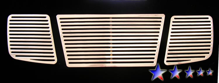 Nissan Titan  2004-2007 Polished Main Upper Perimeter Grille