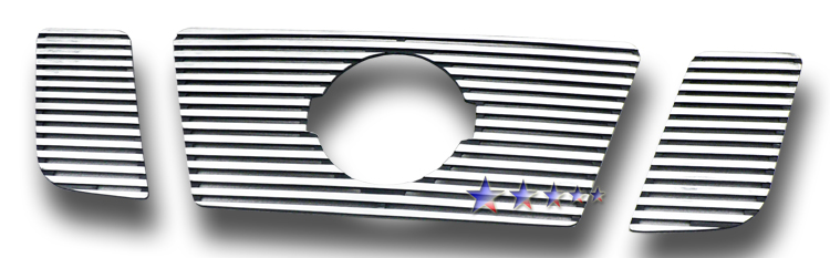 Nissan Titan  2008-2012 Polished Main Upper Perimeter Grille