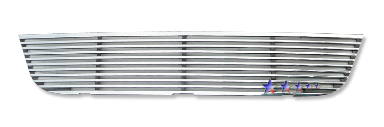 Nissan Armada  2008-2012 Polished Lower Bumper Perimeter Grille