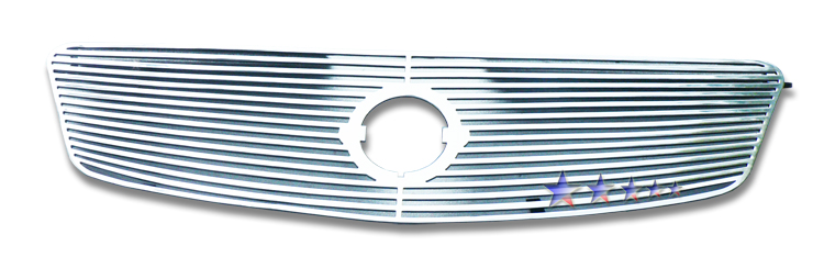 Nissan Altima  2005-2006 Polished Main Upper Perimeter Grille
